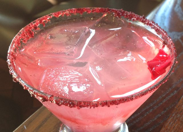 "The Rosita Margarita (this seems to have become the ""signature"" drink at La Hacienda)"