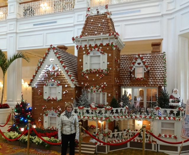 Gingerbread House At The Grand Floridian Resort In 2012