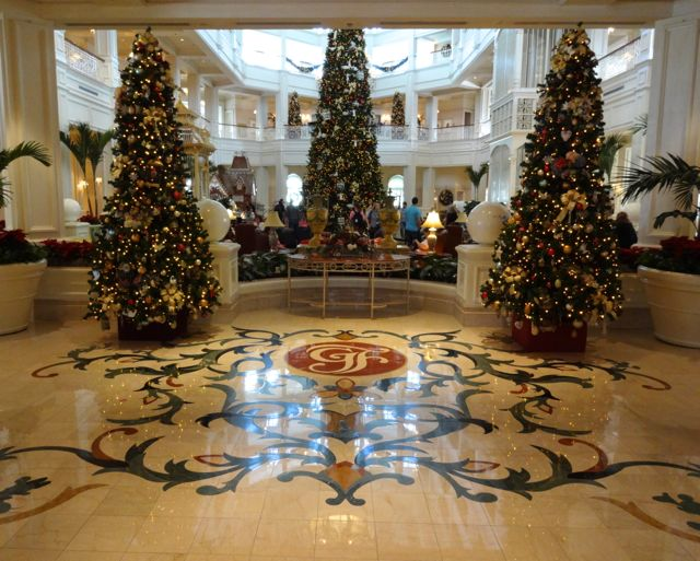 Grand Floridian Resort 2012 Holiday Decorations 171 Extra