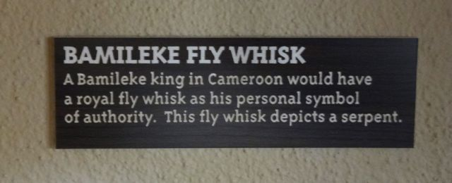 The King's Fly Whisk acts as something of a scepter