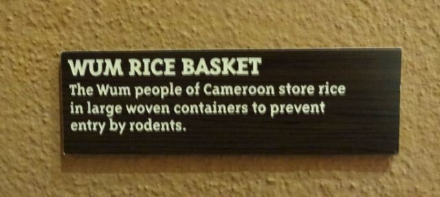 Ah... Specifically, it's a rice basket