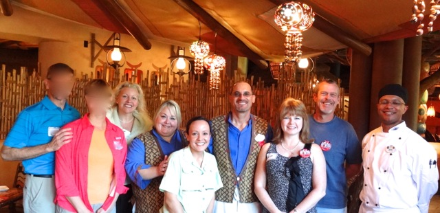 Our group: nick, nora, Stephanie, Danielle, Yaraila, Steven, Kim, Andy, and Chef David