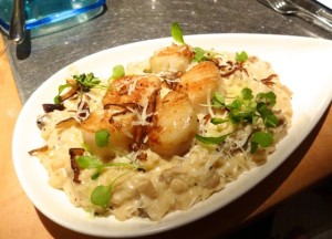 Nora's selection: Oak-Grilled Maine Coast Day Boat Sea Scallops