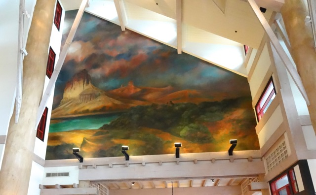 There are two murals inside Artist Point... in the style of John Meer. (you'll find an Audio Animatronic of John Meer in the American Adventure at Epcot discussing the need for preserving wild spaces with Teddy Roosevelt.)