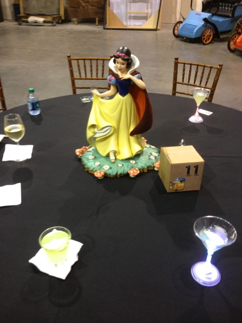 Snow White for the Good versus Evil area