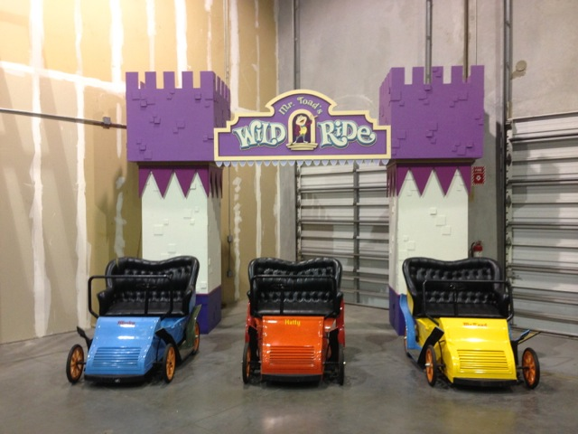 Cars from Mr Toad's Wild Ride