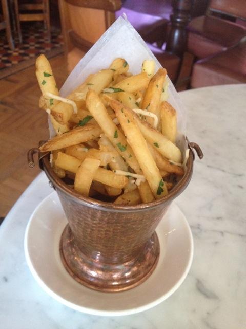 Garlic Parmesan and Truffle Oil Skinny Fries