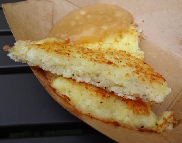 Potato Pancake with House-Made Applesauce