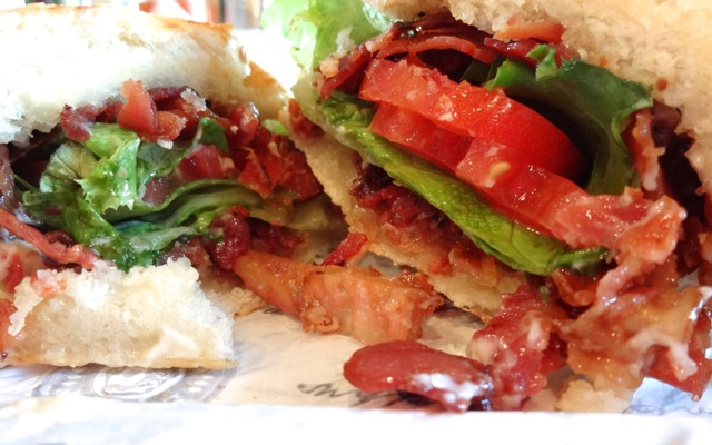 Earl of Sandwich - The Best BLT - April 2013 - 2