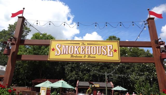 The Smokehouse Barbecue & Brews - 2013 Epcot Flower & Garden Festival - 01