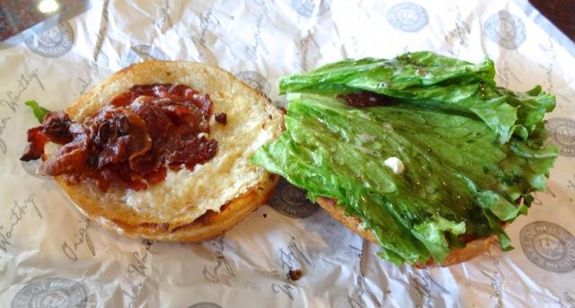 Breakfast BLT - Earl of Sandwich - May 2013 - 2