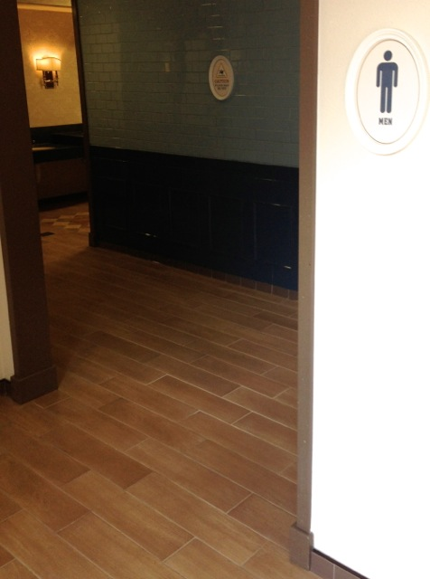 Epcot America Pavilion new restrooms September 2013 - 06