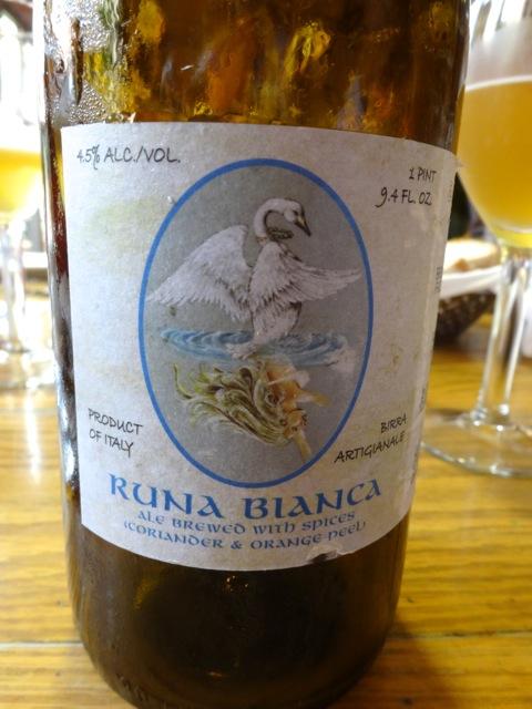 Birrificio Montegioco, Runa Bianca