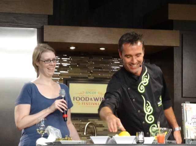 Kevin Dundon cooks trout for a culinary demo - 2013 Epcot Food and Wine Festival - 15