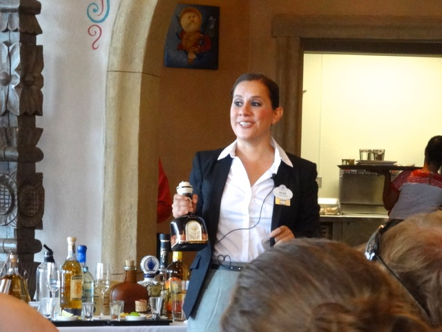 Hilda with the 1921 Crema de Tequila