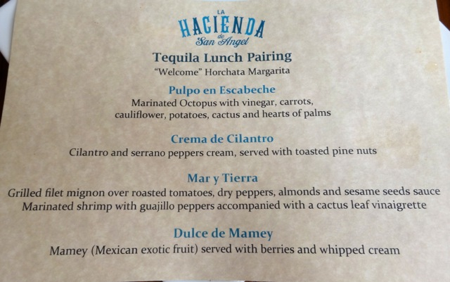 Tequila Lunch Pairing at La Hacienda de San Angel - 2013 Epcot Food and Wine Festival - 05