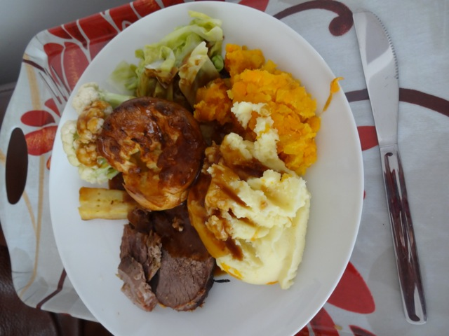 Sunday Dinner in Newcastle - Roast Lamb