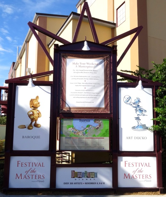 2013 Festival of the Masters at Downtown Disney - 01