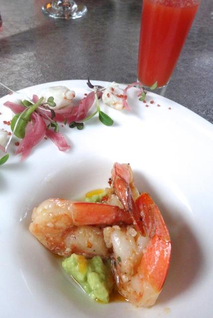 Derby Cocktail - Shrimp & Avocado, Lump Crab, Bloody Mary & Horseradish Sauce