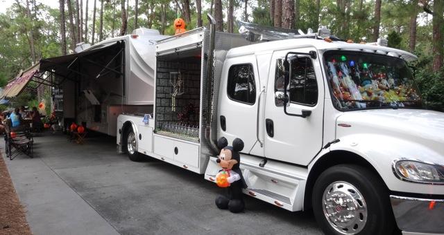 Halloween 2013 at Fort Wilderness Campground - Walt Disney World - 19