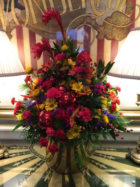 Large Arrangement For Foyer : Boardwalk inn villas ornaments holidays « extra