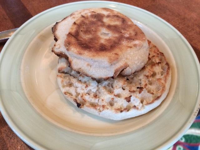 small English muffin