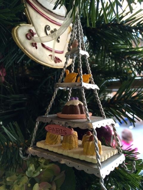 Eiffel Tower Christmas Ornaments
