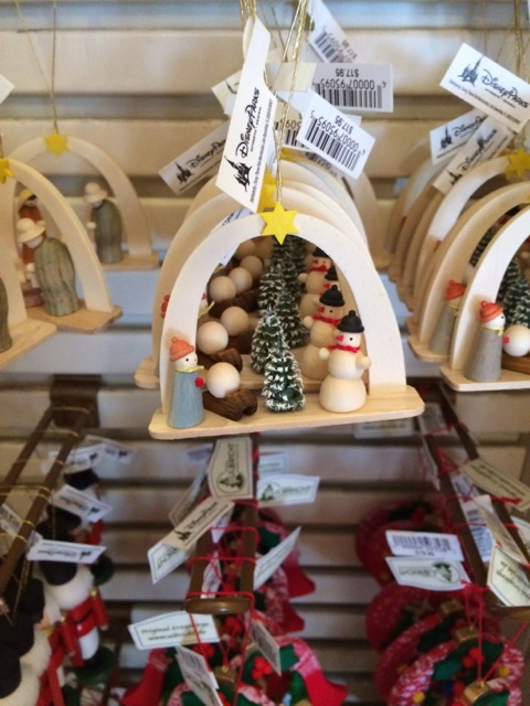 small Nativity (or creche) crafted from wood