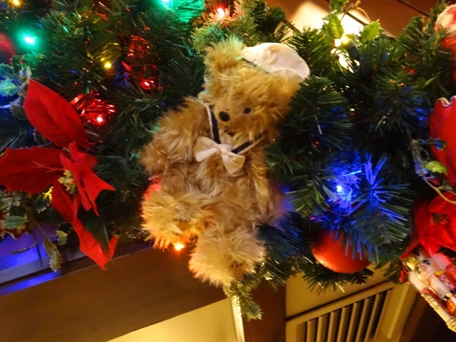very fuzzy teddy bear