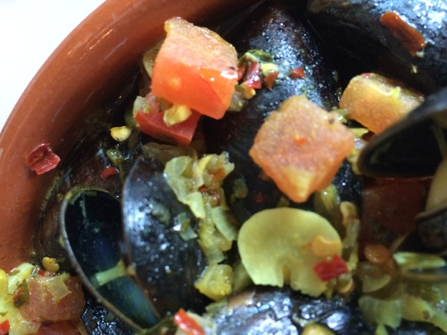 Mussels Tagine more spicy at #spiceroadtable #morocco #epcot 15MAR14 - 03