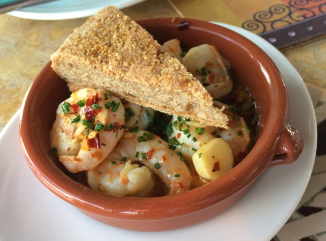 Spicy Shrimp #spiceroadtable #morocco #epcot 16MAR14 - 1