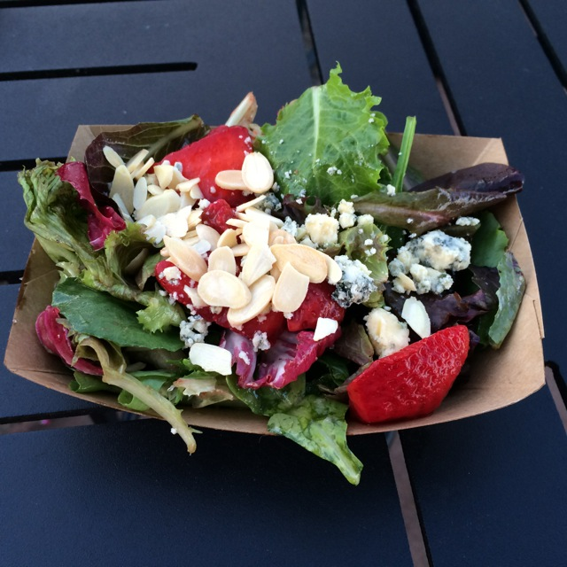 #buttercupcottage #strawberrysalad #epcot #flowerandgardenfest 2014 - 1