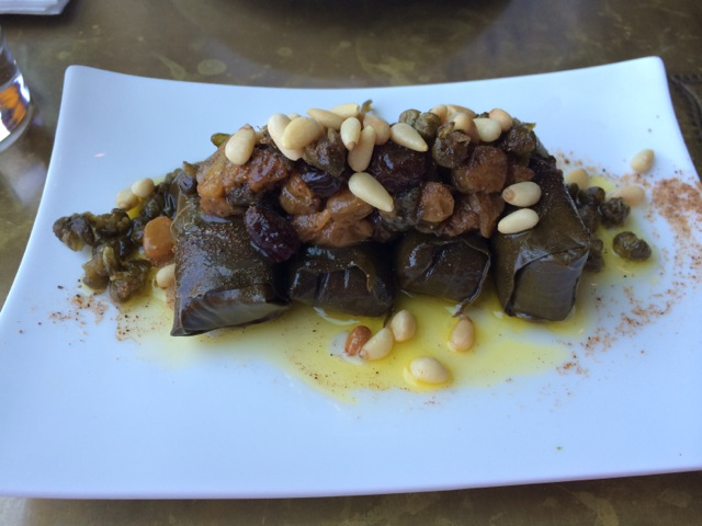 #spiceroadtable Stuffed Grape Leaves 04MAY2014 - 1