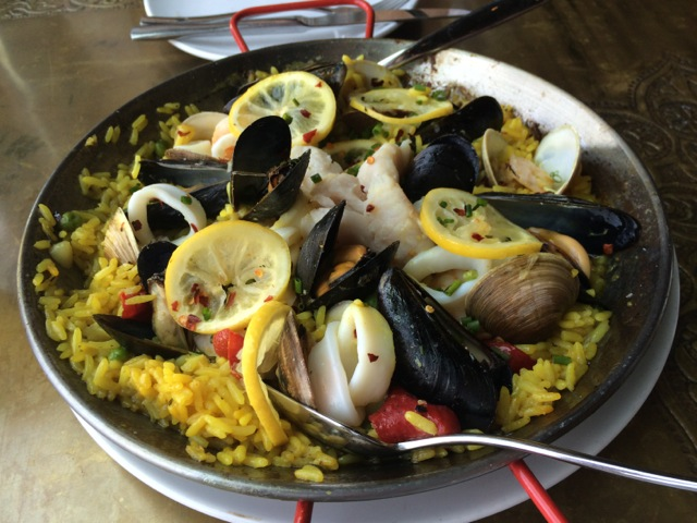 #spiceroadtable chef's special seafood paella 01MAY2014 - 02