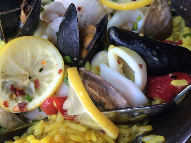 #spiceroadtable chef's special seafood paella 01MAY2014 - 03