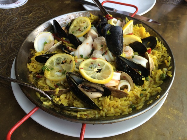 #spiceroadtable chef's special seafood paella 01MAY2014 - 04