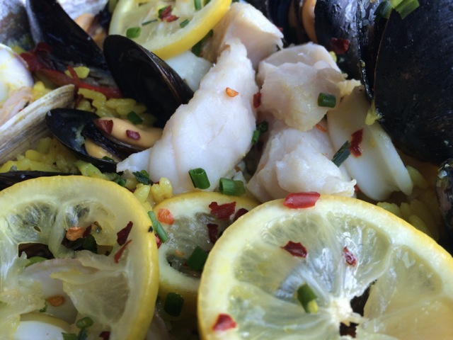 #spiceroadtable chef's special seafood paella 01MAY2014 - 05