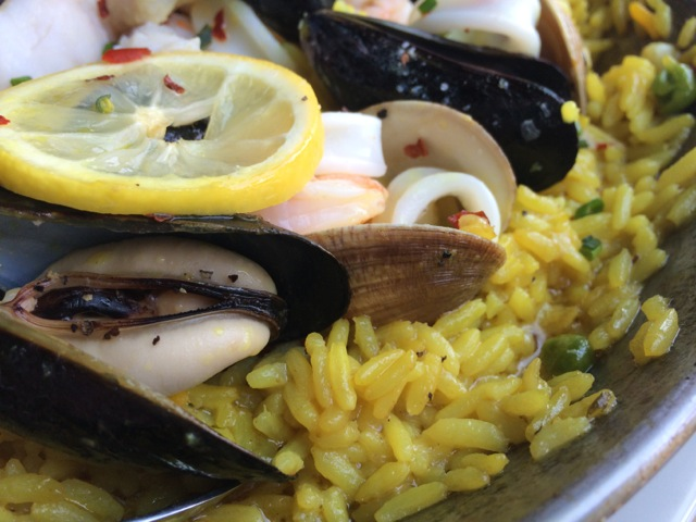 #spiceroadtable chef's special seafood paella 01MAY2014 - 07