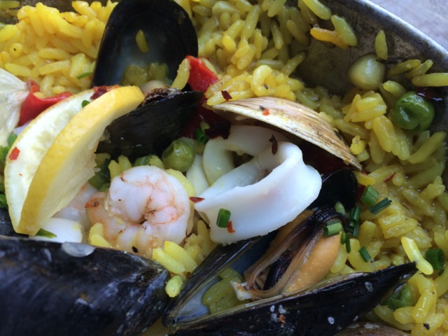 #spiceroadtable chef's special seafood paella 01MAY2014 - 08