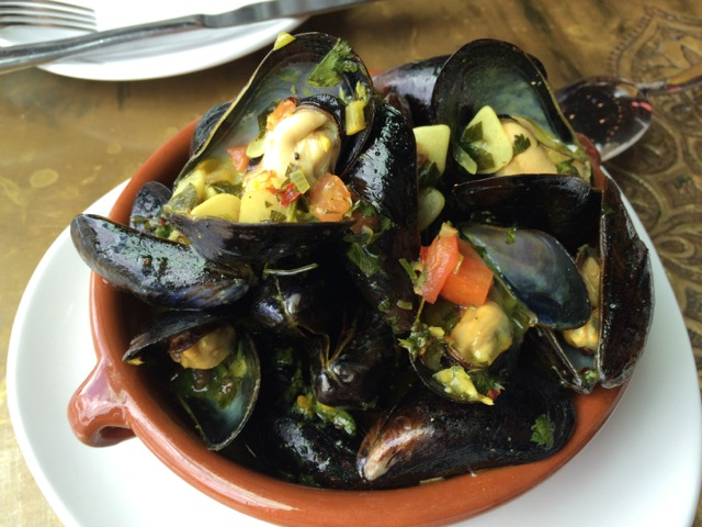 #spiceroadtable mussels tagine 19APR2014 - 1