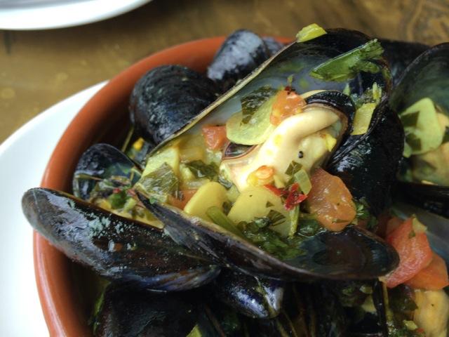 #spiceroadtable mussels tagine 19APR2014 - 3