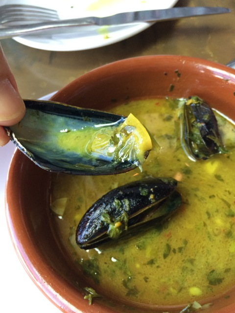 #spiceroadtable mussels tagine 19APR2014 - 5