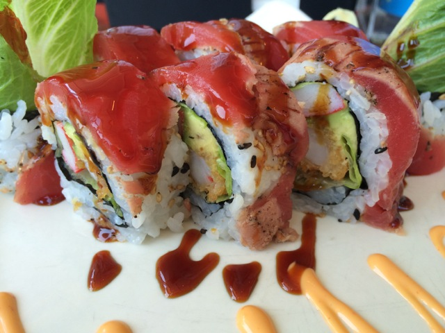 the fire roll is very tasty, maybe not our favorite though