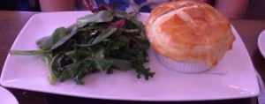 Chicken Pot Pie and Green Salad