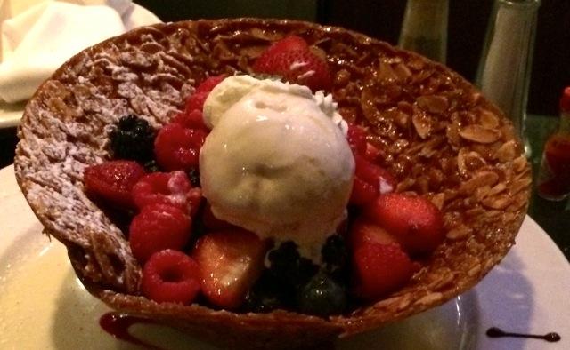 Surprise Dessert at Shula's Steakhouse 140808