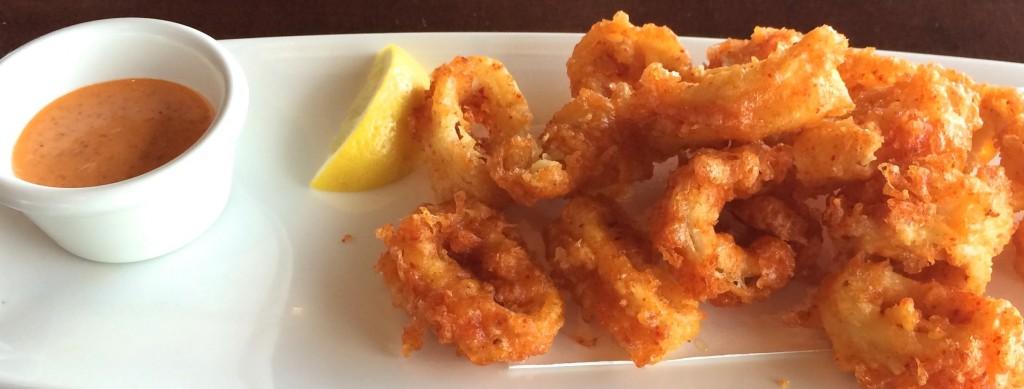 Calamari at Tokyo Dining