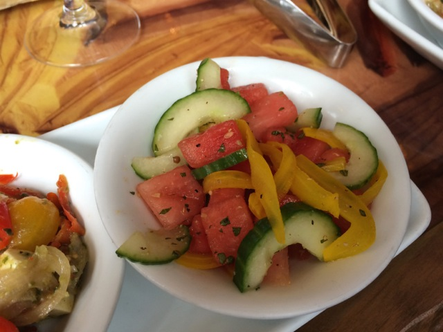 Cucumber, Fennel, and Watermelon Salad (probably my favorite)