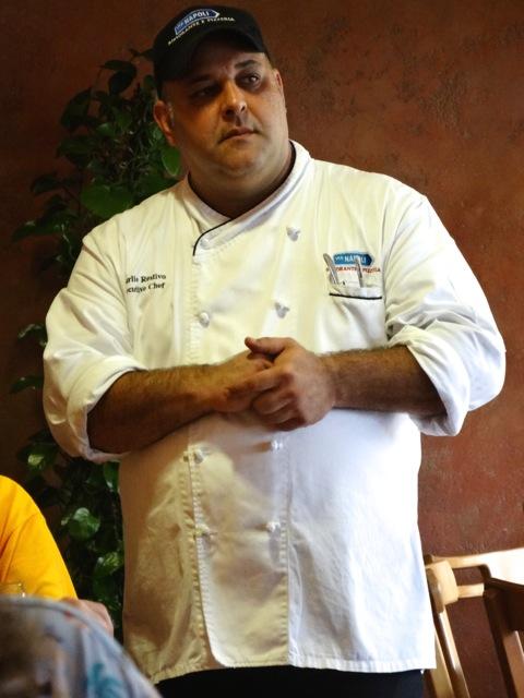 Metting Chef Charlie Restivo